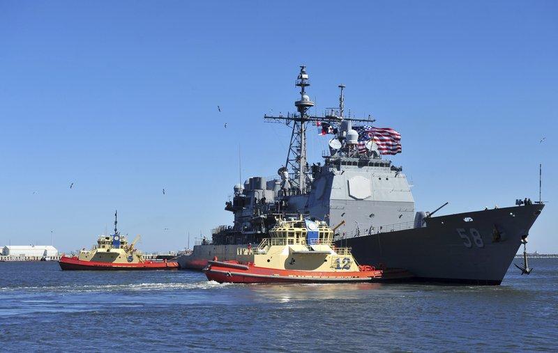 Dos buques de la Armada de EEUU, afectados por coronavirus
