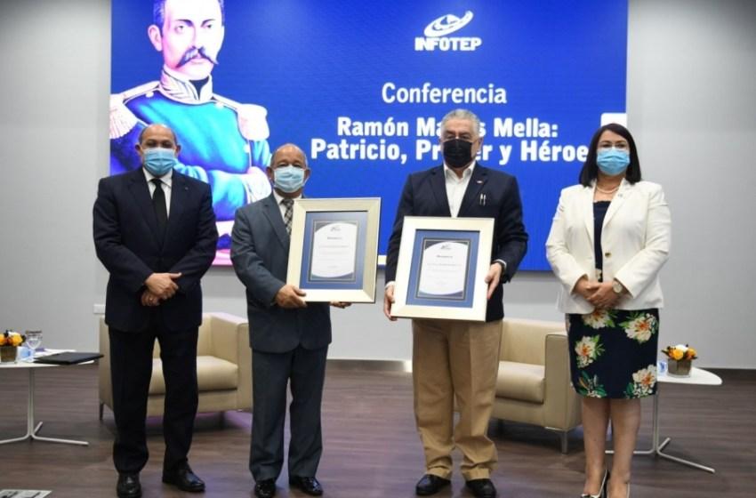 INFOTEP y el Instituto Duartiano ofrecen conferencia «Ramón Matías Mella: Patricio, Prócer y Héroe»