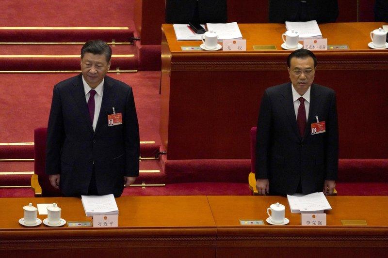 China fija objetivo económico y endurece control a Hong Kong