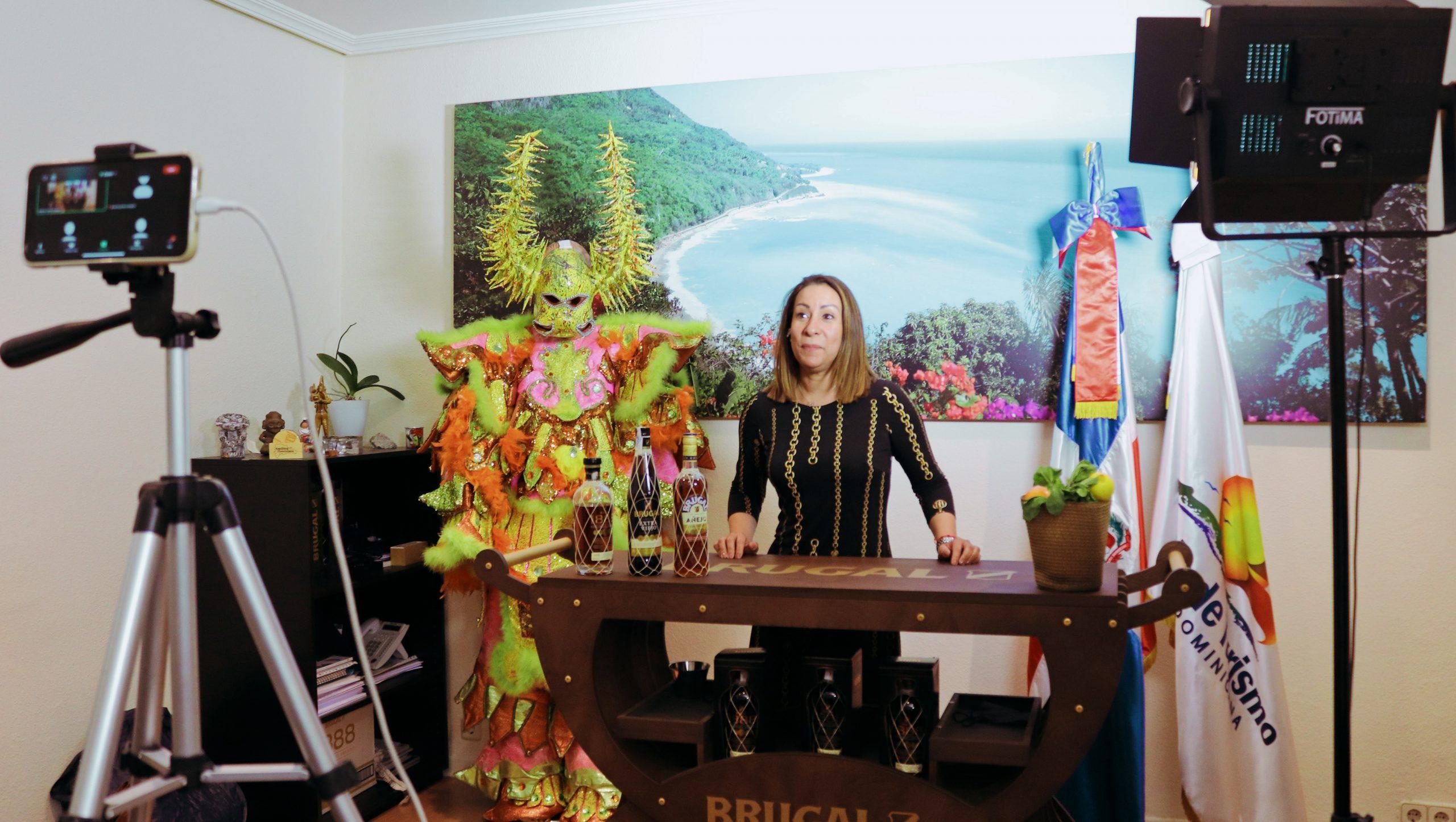 OPT España realiza cata virtual y promoción de carnaval