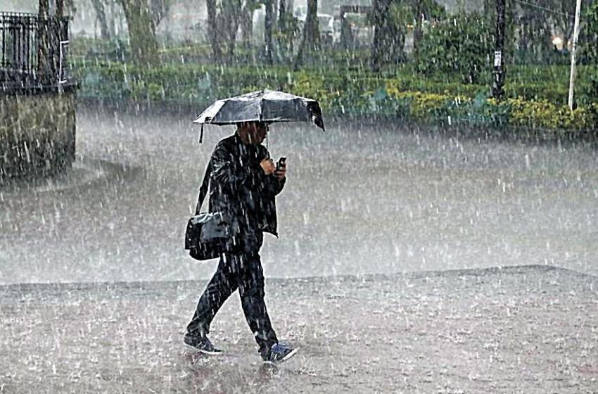 La ONAMET pronostica algunos aguaceros y aisladas tronadas por vaguada en varias localidades del país.