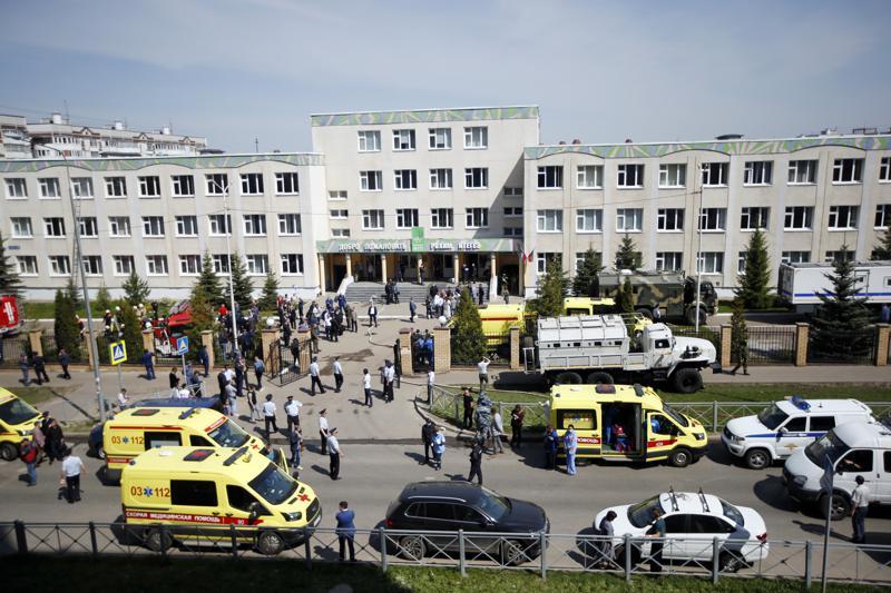 Un tiroteo en una escuela causa 11 muertos y 4 heridos en la ciudad rusa de Kazán, según medios rusos