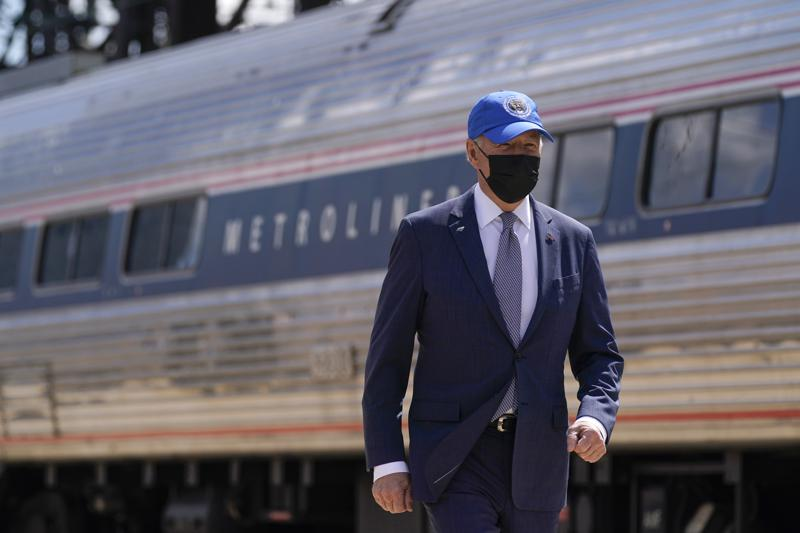 Biden celebra el cincuentenario de Amtrak