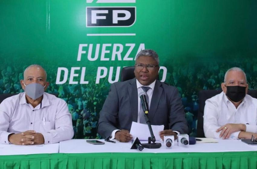 Fuerza del Pueblo llama al Gobierno a ponderar participación del sector sindical en posible reforma fiscal