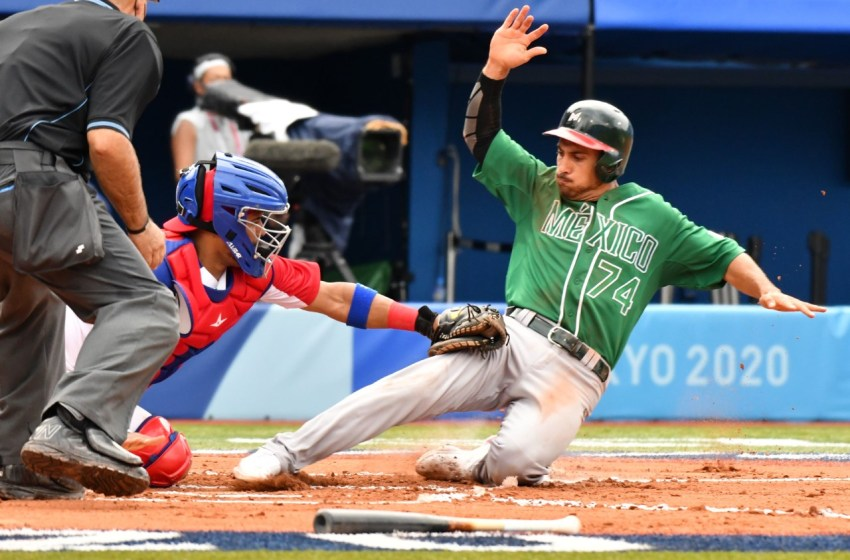 Selección de béisbol Dominicana blanquea a México y logra primer triunfo JJOO