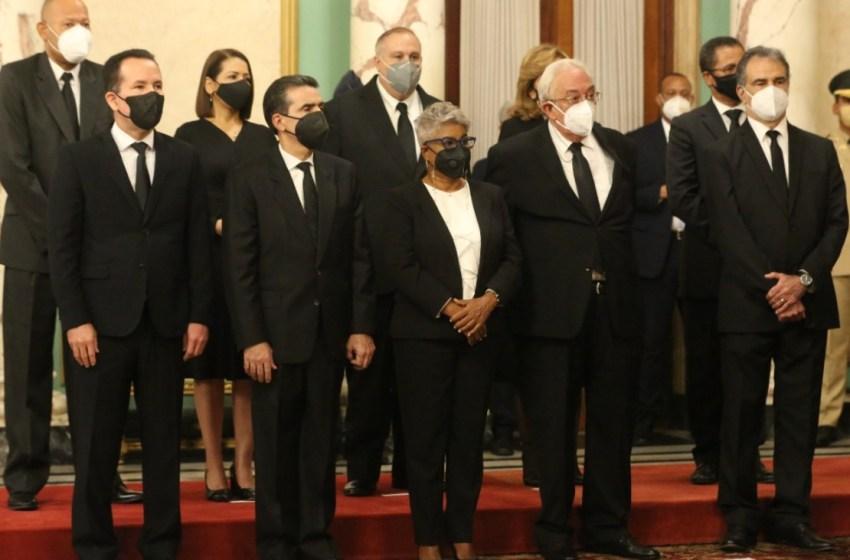 CNM juramenta nuevos jueces y suplentes del TSE