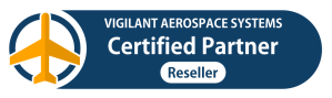 Vigilant Aerospace Certified Reseller Partner web badge
