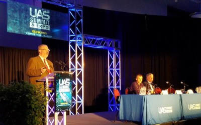 """Video: """"New Models for Integration of UAS Into the NAS: Airspace Management as a Service"""" – a 2018 UAS Summit & Expo Presentation"""