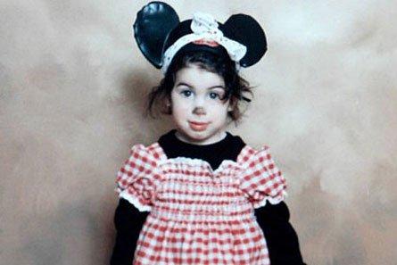 Amy Winehouse de niña