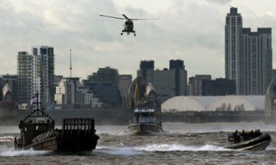 London is Turning Into a Highly Militarized Police State in Preparation for Olympic Games