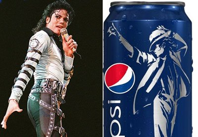 """Michael Jackson to Be """"Ressurected"""" on a Billion Pepsi Cans"""