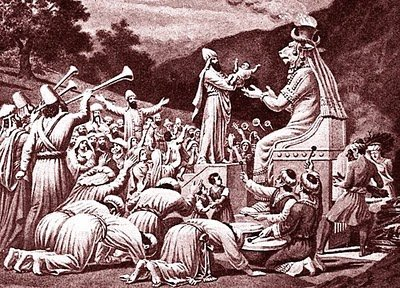 The End of April: A Time of Human Sacrifice
