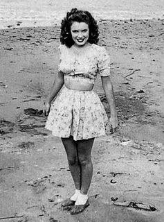 Marilyn cuando era un adolescente.
