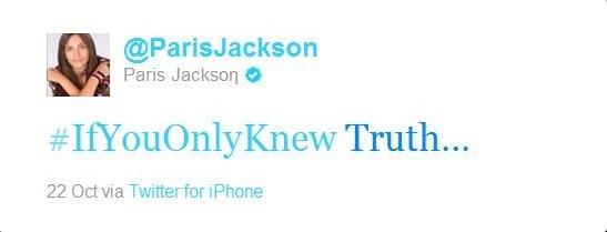 "Paris Jackson Enters Treatment Facility + Her ""Illuminati"" Tweets"