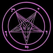 O logotipo da Igreja de Satanás - o Sigil de Baphomet
