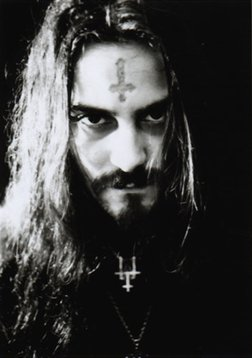 Death Metal musician Glen Benton sometimes wears an inverted cross on his forehead as part of his act. Is it a tribute to St. Peter? No, he's a Satanist. At least, he's open about it. Today's pop culture is all about deceit and hypocrisy.