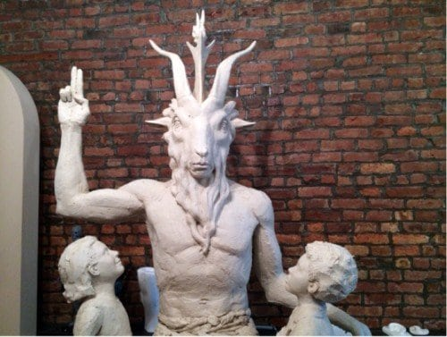 "The goal of the Satanic Temple: Luring children into the dark world of black magick claiming its a ""harmless poke a Christianity""."