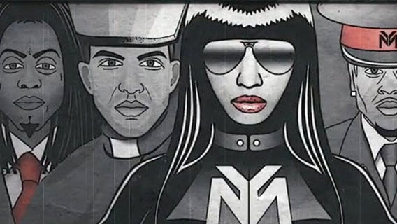 """Nicki Minaj's """"Only"""" or How Rappers Give Tribute to Their Elite Overlords"""