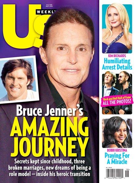 Magazine américain aller à l'intérieur de sa transition «héroïque». Héroïque.