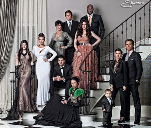 "How many men in that Kardashian ""Christmas card"" are still ""in the picture?"""
