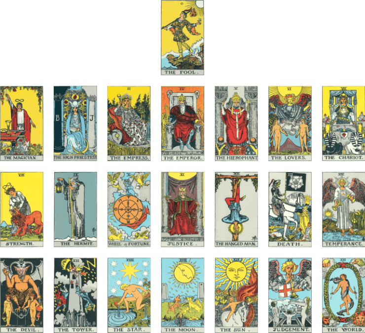 """The Economist's """"The World in 2017"""" Makes Grim Predictions Using Cryptic Tarot Cards"""