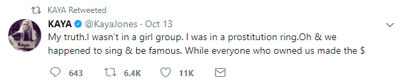 """Ex-Pussycat Doll Kaya Jones: The Group Was a """"Prostitution Ring"""""""