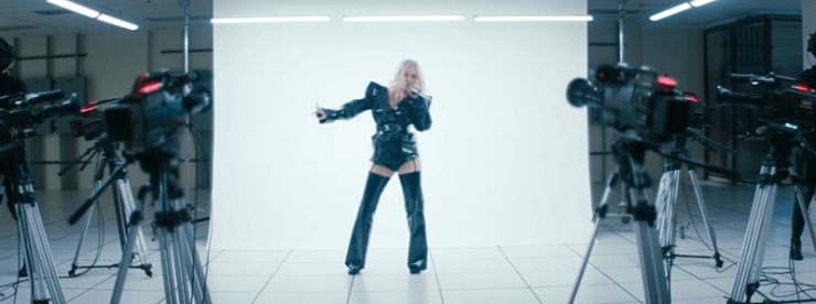 """The Disturbing Hidden Meaning of Christina Aguilera's """"Fall in Line"""""""