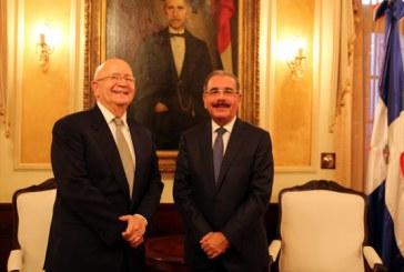 Canciller Morales Troncoso y Presidente Medina tratan visita de Biden y cumbre del SICA
