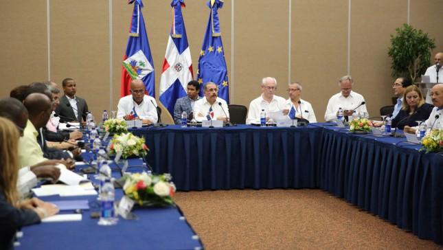 Inicio de la reunion trilateral en Punta Cana