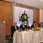 El vice-presidente ejecutivo de la CDEEE, Rubén Jiménez Bichara durante la conferencia