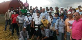 Participantes del seminario sobre desechos sólidos