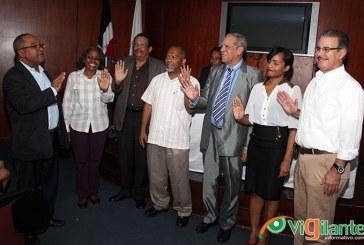 CDP juramenta nuevos miembros y coordinadores de comisiones
