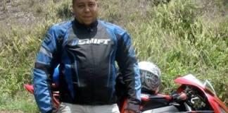 Newton González, asesinado por gatilleros en pleno centro de Santiago.
