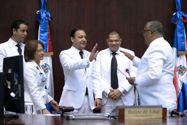 Abel Martínez jura por quinta vez como presidente de la Cámara de Diputados