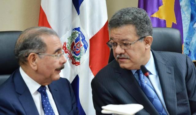El presidente Danilo Medina y el ex presidente Leonel Fernández se repartieron los mandos en las cámaras legislativas.