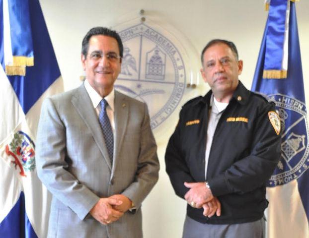 Iván Grullón Fernández y Latif Miguel Mahfoud Rodríguez