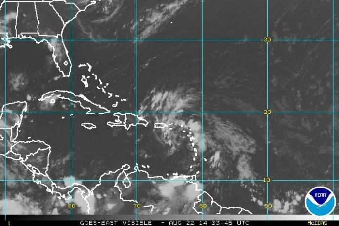 El sistema de baja presión está próximo a Puerto Rico