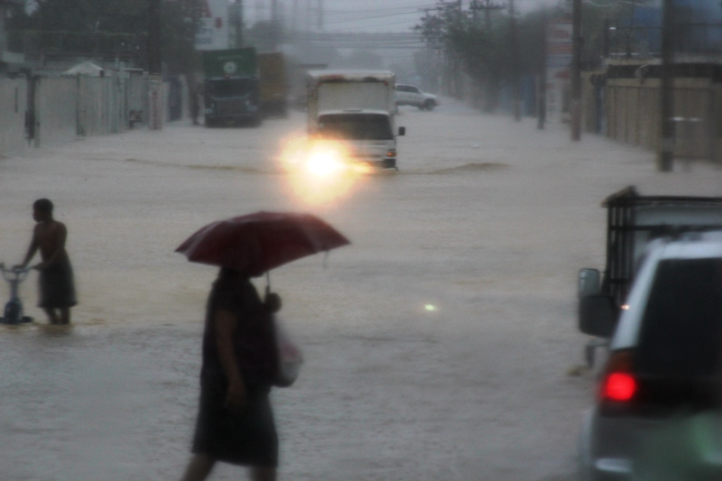Cristóbal se convirtió en un huracán en el Atlántico