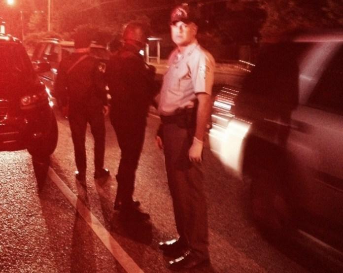 La periodista Llennis Jiménez denunció que un oficial de la Policía que se identificó como Calderón M. la maltrató