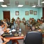 Reunión conjunta de la Policía y el Ejército dominicano
