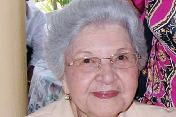 Doña Renée Klang viuda Guzmán