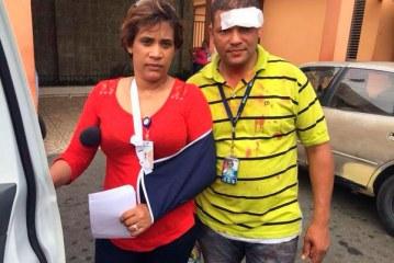 Un haitiano muerto, dos camarógrafos y una periodista heridos en el 27 de Febrero
