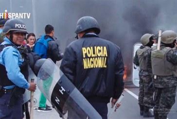 Un muerto en represión a oposición en Honduras