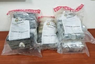 DNCD decomisa 30 paquetes de drogas en Puerto de Haina