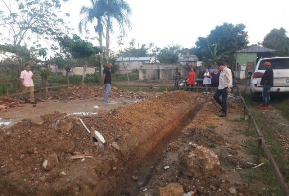 Inicia construcción escuela en sector Juan Guzmán, Manoguayabo