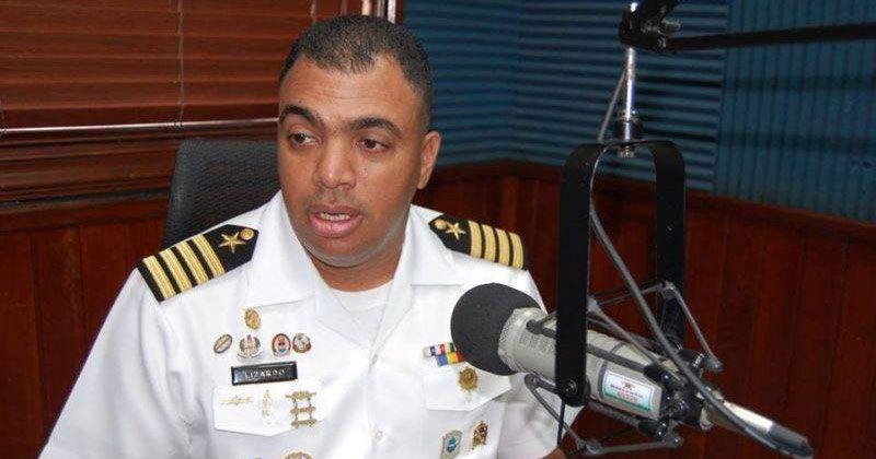 Junto al vocero de la Armada fue baleado un hijo menor