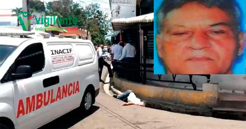 Era comerciante hombre asesinado frente a terminal autobuses de Santiago