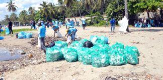 Día Internacional de Limpieza de Playas, Costas y Riberas de Río en República Dominicana