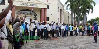 Cañeros vuelven al Palacio Nacional