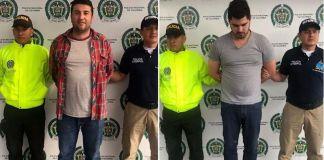 extradición de pilotos desde Colombia